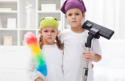 Children, Chores and Conflict: Do They Really have to Go Together?